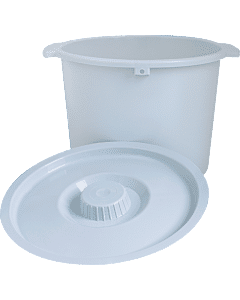 "Replacement Pail With Lid, 6-7/10"" X 11-1/5"" Part No. 6317 (1/ea)"