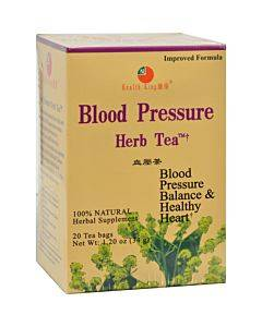 Health King Blood Pressure Herb Tea - 20 Tea Bags