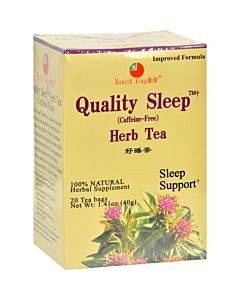 Health King Sweet Dream Quality Sleep Herb Tea - 20 Tea Bags