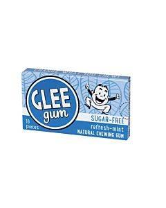 Glee Gum Chewing Gum - Refresh Mint - Sugar Free - Case Of 12 - 16 Pieces