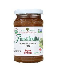 Fiordifrutta Organic Fruit Spread Fig - Fruit Spread Fig - Case Of 6 - 9.17 Oz.
