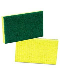 Medium-duty Scrubbing Sponge, 3.6 X 6.1, 10/pack