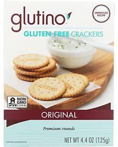 Glutino Original Crackers - Case Of 6 - 4.4 Oz.