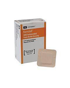 "Amd Antimicrobial Foam Border Dressing, 3-1/2"" X 5-1/2"" Part No. 55546bamd (1/ea)"