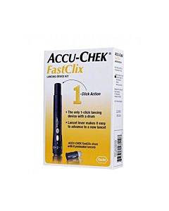 Accu-chek Fastclix Lancing Device Kit Part No. 05864666160 (1/ea)