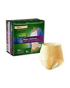 Depend Underwear Overnight Absorbency Large For Women Part No. 45599 (16/package)