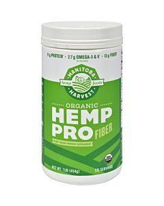 Manitoba Harvest Organic Hemp Pro Fiber - 16 Oz