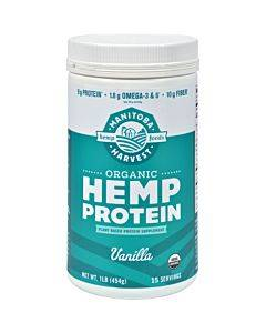 Manitoba Harvest Organic Hemp Protein Vanilla - 16 Oz