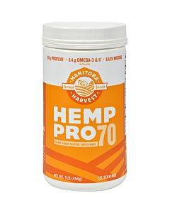 Manitoba Harvest Original Plant Based Protein Supplement Hemp Pro 70  - 1 Each - 16 OZ