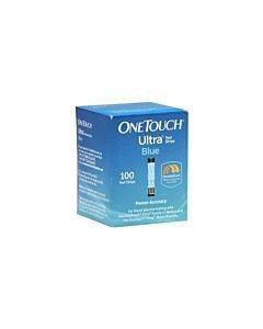 Onetouch Ultra Blue Blood Glucose Test Strip (100 Count) Part No. 022895 (100/box)