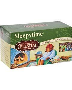 Celestial Seasonings Sleepytime Herbal Tea Caffeine Free - 20 Tea Bags - Case Of 6