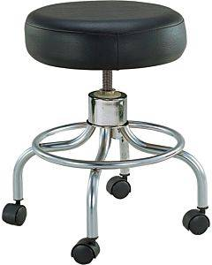 Drive Medical Classic Doctors Stool W/o Back W/footring &casters Drive Part No.13034