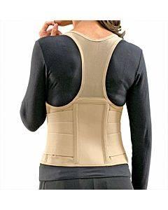 Bsn Medical Fla Ortho Cincher Female Back Support Large Tan Part No.2000tl