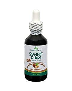 Sweet Leaf Liquid Stevia Sweet Drops - Hazelnut - 2 Oz