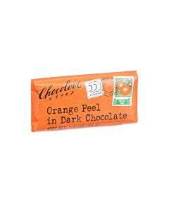 Chocolove Xoxox - Premium Chocolate Bar - Dark Chocolate - Orange Peel - Mini - 1.2 Oz Bars - Case Of 12