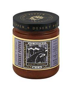Desert Pepper Trading - Mild Divino Salsa - Case Of 6 - 16 Oz.