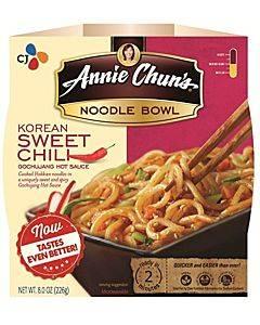 Annie Chun's Korean Sweet Chili Noodle Bowl - Case Of 6 - 7.9 Oz.