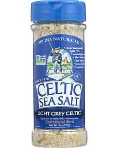 Celtic Sea Salt - Light Grey Celtic - Case Of 6 - 8 Oz.