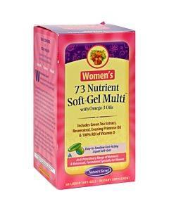 Nature's Secret Women's 73 Nutrient Soft-gel Multi - 60 Softgels