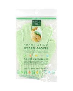 Earth Therapeutics Exfoliating Hydro Gloves  - 1 Pair