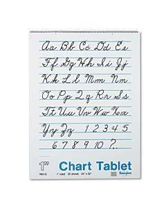 "Chart Tablets, 1"" Presentation Rule, 24 X 32, 25 Sheets"