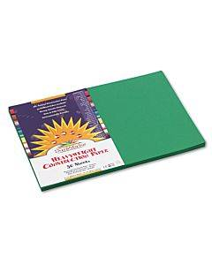 Construction Paper, 58lb, 12 X 18, Holiday Green, 50/pack