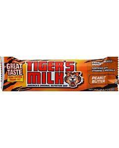 Tigers Milk Bar - Peanut Butter Crunch - Case Of 24 - 1.23 Oz
