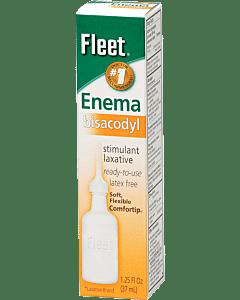 Fleet Bisacodyl Enema 1-1/4 Oz. Part No. 750 (1/ea)