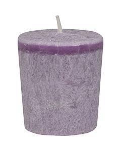 Aloha Bay - Votive Eco Palm Wax Candle - Lavender Hills - Case Of 12 - 2 Oz