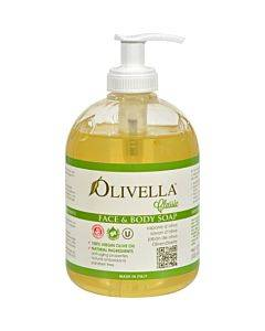 Olivella Face And Body Soap - 16.9 Fl Oz