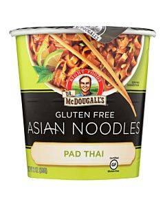 Dr. Mcdougall's Pad Thai Asian Noodles - Case Of 6 - 2 Oz.