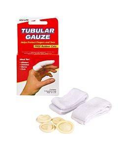 Health Enterprises   Tubular Gauze With Finger Cots Part No.400436