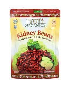 Jyoti Cuisine India Beans - Organic - Kidney - 10 Oz - Case Of 6