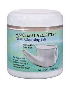 Ancient Secrets Nasal Cleansing Salt - 10 Oz