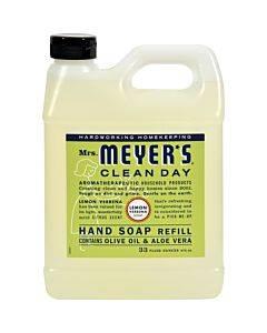 Mrs. Meyer's Clean Day - Liquid Hand Soap Refill - Lemon Verbena - Case Of 6 - 33 Fl Oz.
