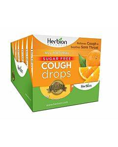 Sugar Free Cough Drops Orange