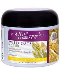 Mill Creek Botanicals Wild Oats Scrub - 4 Oz