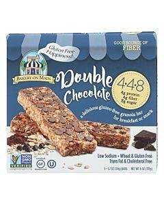 Bakery On Main Double Chocolate Granola Bars - Case Of 6 - 1.2 Oz.