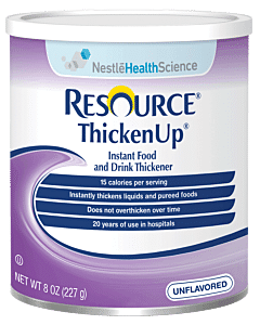 Resource Thickenup Instant Unflavored Food Thickener 8 Oz. Can Part No. 22510000 (12/case)