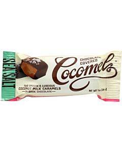 Cocomel - Dark Chocolate Covered Cocomel -s - Sea Salt - Case Of 15 - 1 Oz.