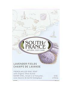 South Of France Bar Soap - Lavender Fields - 6 Oz - 1 Each