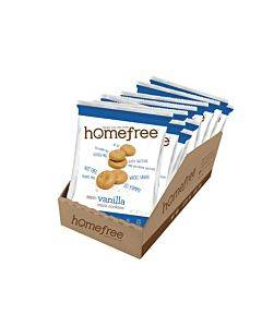 Homefree - Gluten Free Mini Cookies - Vanilla - Case Of 10 - 1.1 Oz.