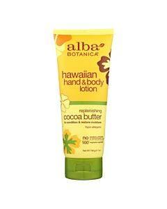 Alba Botanica - Hawaiian Hand And Body Lotion - Cocoa Butter - 7 Fl Oz