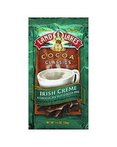 Land O Lakes Cocoa Classic Mix - Irish Creme And Chocolate - 1.25 Oz - Case Of 12
