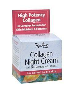 Reviva Labs - Collagen Night Cream - 1.5 Oz