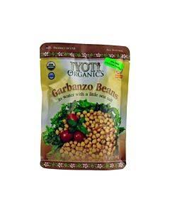 Jyoti Cuisine India Beans - Organic - Garbanzo - 10 Oz - Case Of 6
