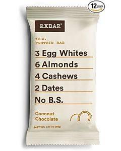 Rxbar - Protein Bar - Coconut Chocolate - Case Of 12 - 1.83 Oz.
