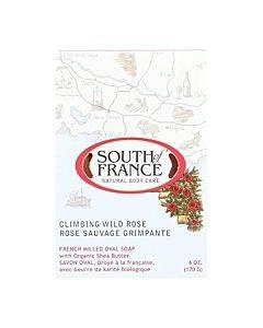 South Of France Bar Soap - Climbing Wild Rose - 6 Oz - 1 Each