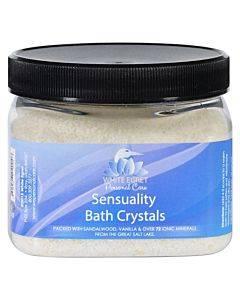 White Egret Bath Crystals - Sensuality - 16 Oz