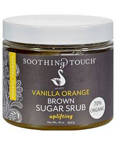 Soothing Touch Brown Sugar Scrub - Vanilla Orange - 16 Oz